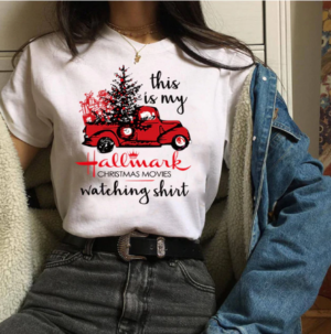Hallmark Christmas Top Tees - 3D Full Printed 12727998251053