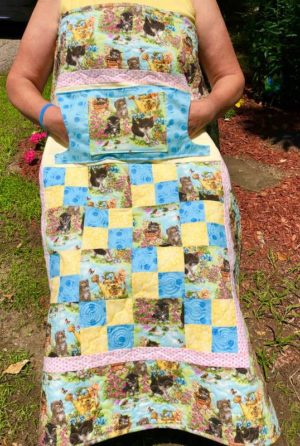 LQUILT - Lap Quilts With Pocket - [Adorable Kitten Lovie] - [85 x 105cm] 5d9203fc72a398d6b65a9015